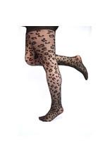 Pamela Mann Panty 30 den Leopard zwart