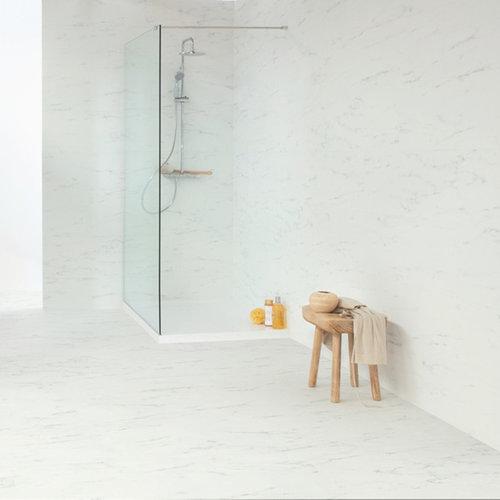Quick-Step  Ambient Click+ Carrara  Marmer Wit  AMCP40136