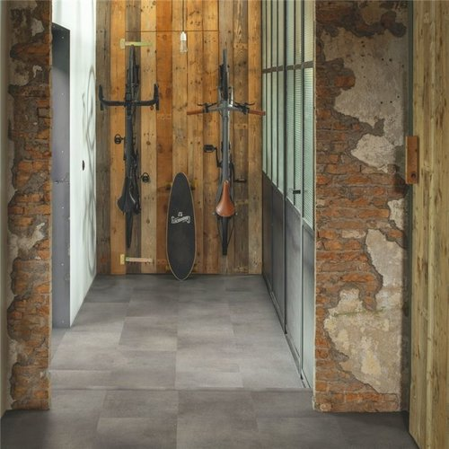 Quickstep Alpha Vinyl Tiles Beton Rots AVST40234