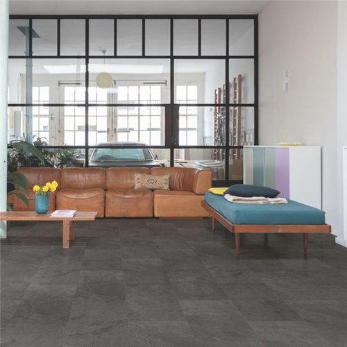 Quick-Step  Alpha Vinyl Tiles Leisteen Zwart AVST40035