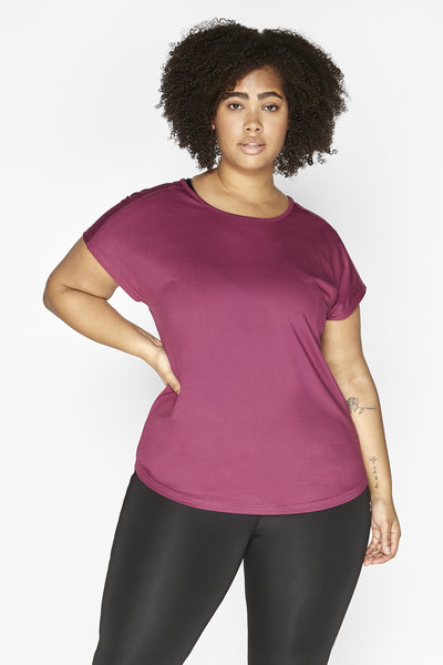 Women's sports shirt Dry-Cool - sustainable Plus Size