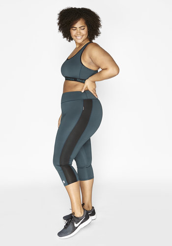 Redmax Women's sports capri Dry-Cool - sustainable Plus Size