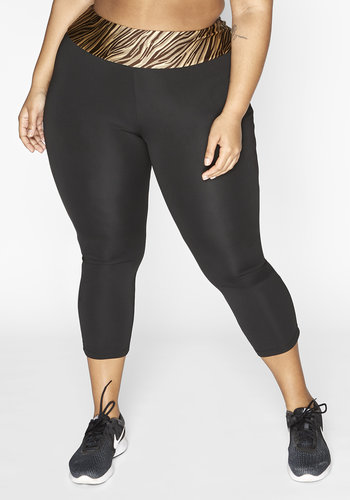 Redmax Women's 7/8 length sports legging Dry-Cool - sustainable Plus Size (pre-order)