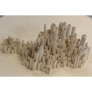 CV-design Art and ceramic: scale with pipes