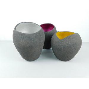 ChiaroEscuro-design Gekleurde vazen in keramiek
