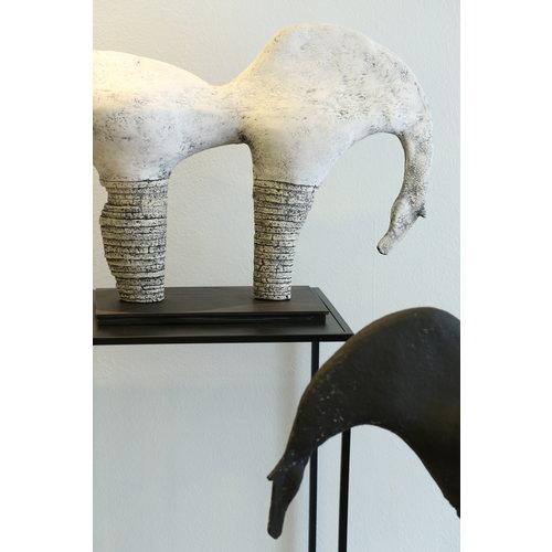 """MARO-kunst Genummerd kunstwerk Paard 02 binnen de reeks """"contrasten beweging"""""""