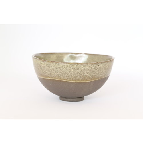 LS-design Ceramic handmade gray bowl for soup, fruit, salad ...