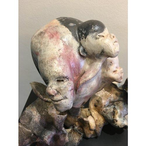 """Ecchie-kunst Ceralic mutated art """"Chimaera 001"""""""
