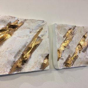 """K!-design Art """"Sand, Salt, Gold"""""""