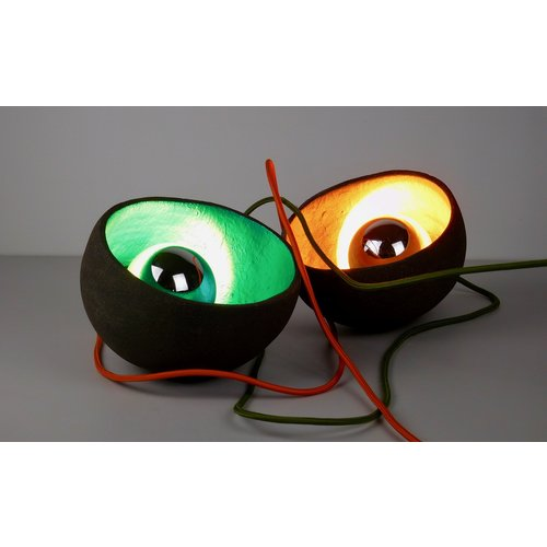"ChiaroEscuro-design Ceramic lighting ""Eye Catcher II"""