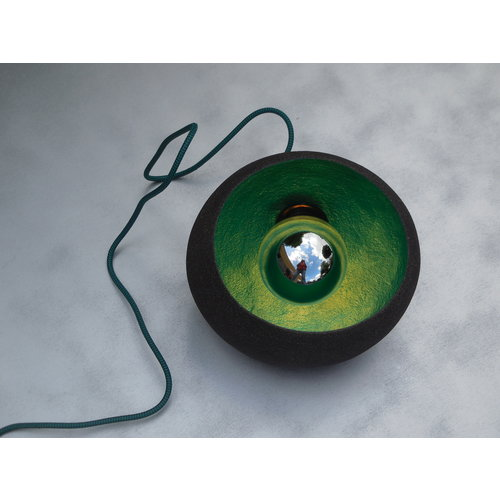 ChiaroEscuro-design The eyeCatcher II Earth is an atmospheric lamp made of ceramic with character that will definitely excel in your interior.