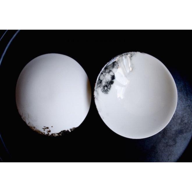Bol la vaisselle en porcelaine Bonny est très décoratif et unique et aussi bon pour les collations, les sauces, les fruits, les noix, les craquelins