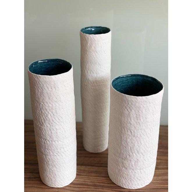 """Vases """"Lakes"""" handmade in porelain"""