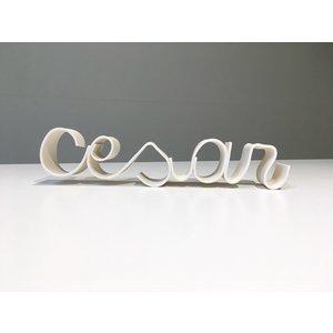 K!-design Lettres en porcelaine