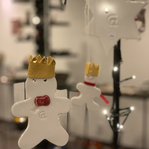 """Kerstdecoratie gemaakt in het thema van """"De Kleine Prins"""""""