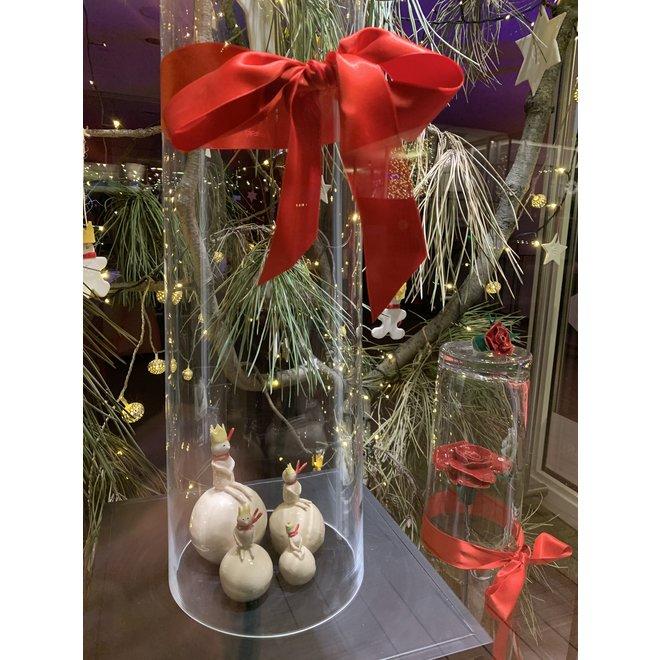 """Uniek en exclusieve kerstdecoratie in steengoed in het thema van """"De Kleine Prins"""" wordt als Special Edition verkocht bij Artisann."""