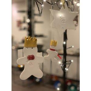 """ARTISANN-design Décoration de Noël réalisée sur le thème du """"Petit Prince"""""""