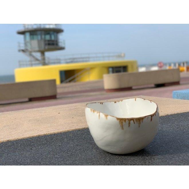 Porcelain schale imperfect