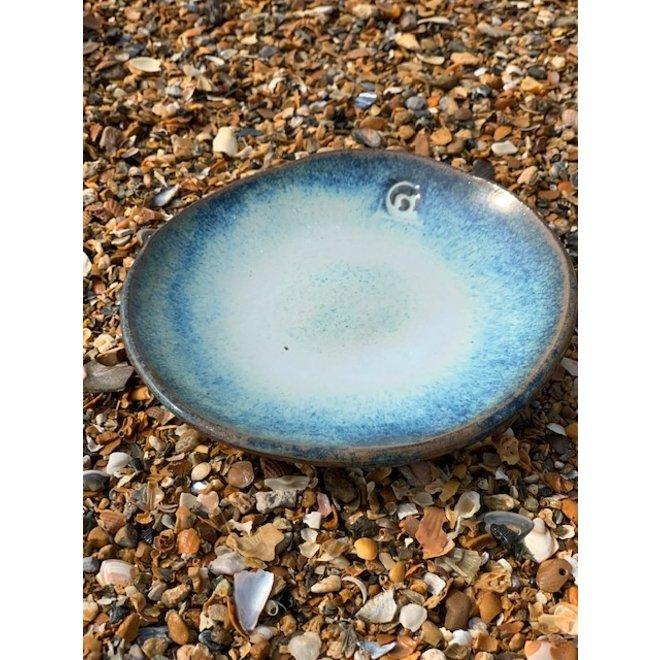 """Plat  creuse """"Beach"""" utilisés pour les collations, mais aussi très agréables comme soucoupe pour un sac à café ou une tasse."""