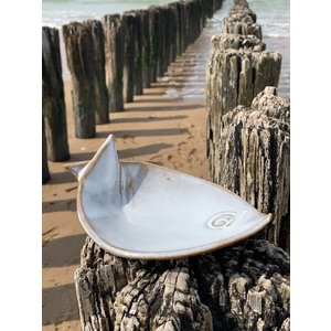 ARTISANN-design Plat creuse de poisson Dunes