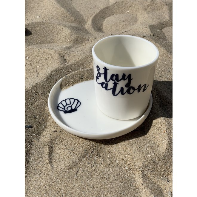 Coffee cup - Staycation - Columna