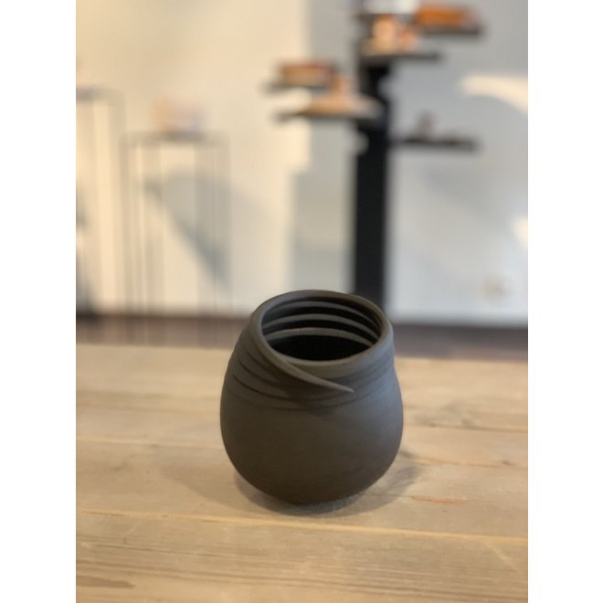 My Twisters are a harmony of contrasts. Each ceramic work is unique, shaped by craft and an example of art.