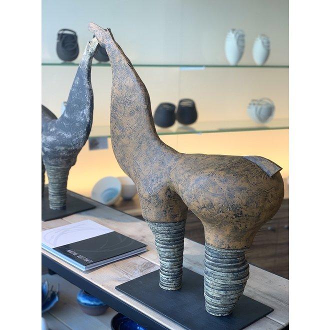 """Genummerd kunstwerk Ombra betekent roest  binnen de reeks """"contrasten beweging"""""""