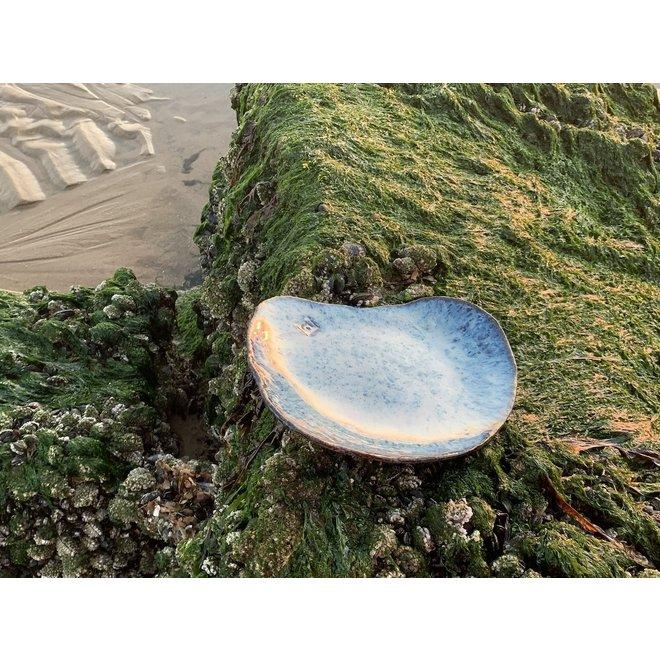 Plate Coquillage Beach Zwart