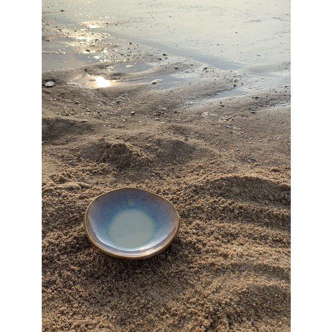 """Plat creuse """"Sunset"""" utilisés pour les collations, mais aussi très agréables comme soucoupe pour un sac à café ou une tasse."""