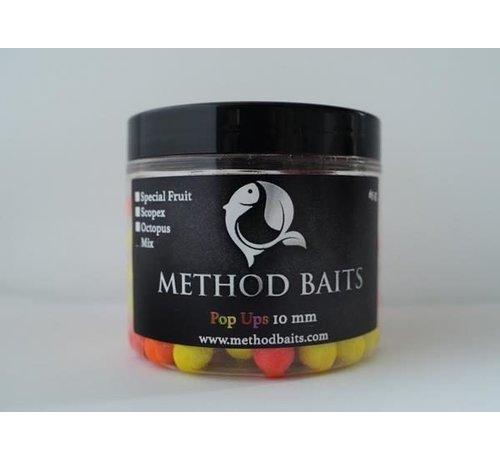 Method Baits Fluo Pop-ups mix