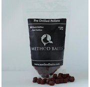 Method Baits Pre-Drilled Pellets 8 mm – Red Halibut
