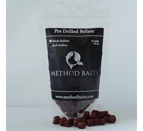 Method Baits Pre-Drilled Pellets 8 mm – Red Halibut