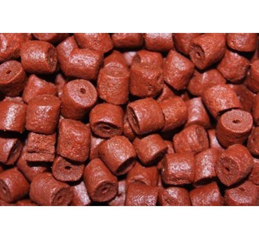 Pre-Drilled Pellets 8 mm – Red Halibut