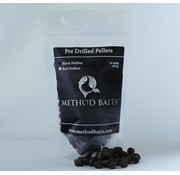 Method Baits Pre-Drilled Pellets 8 mm – Black Halibut