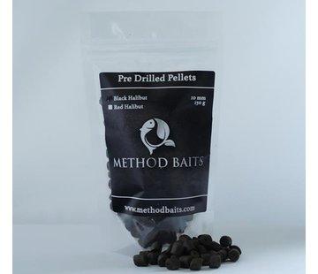 Method Baits Pre-Drilled Pellets 8 mm – Black Halibut