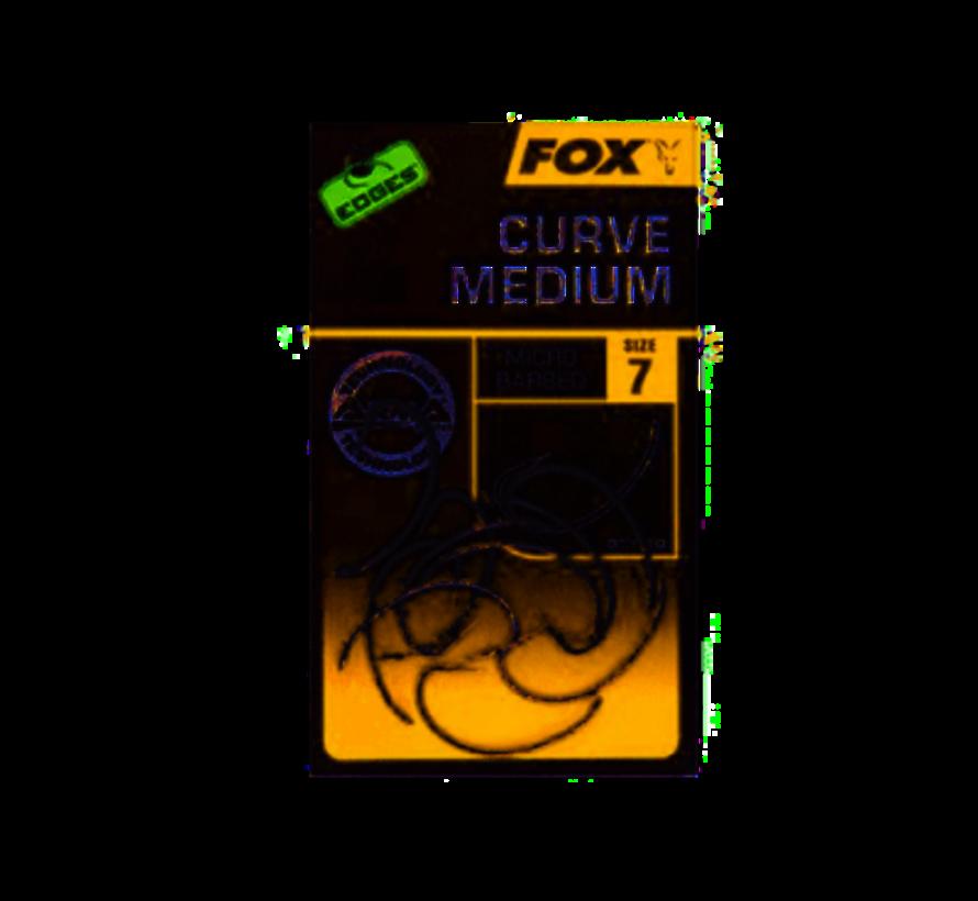 Fox Edges Armapoint Curve Medium - Karperhaken