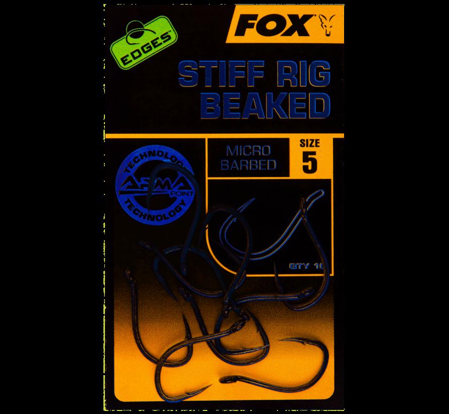 Fox Edges Armapoint Stiff Rig Beaked - Karperhaken