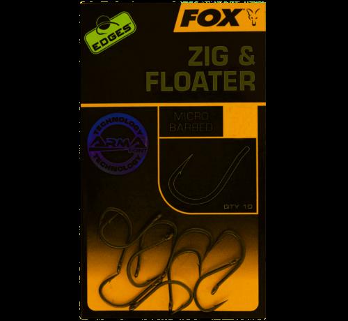 Fox Fox Edges Arma point Zig & Floater - Karperhaken