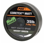 Fox Fox Coretex Matt Coated Braid - Weedy Green