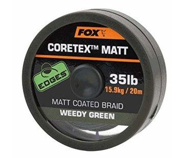Fox Fox Coretex Matt Coated Braid - Weedy Green