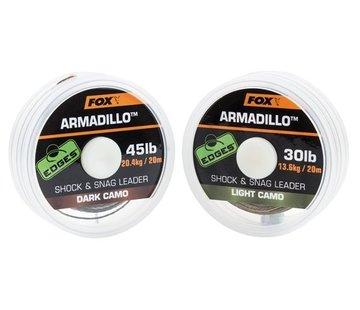 Fox Fox Armadillo Shock & Snag leader - Dark Camo
