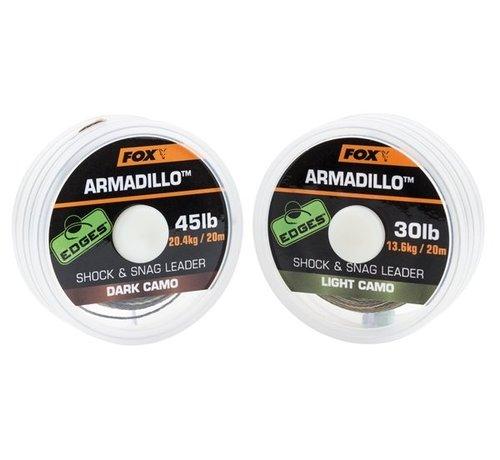 Fox Fox Armadillo Shock & Snag leader - Dark Camo - Leaders