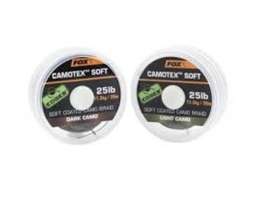 Fox Fox Camotex Soft Coated Camo Braid - Light Camo