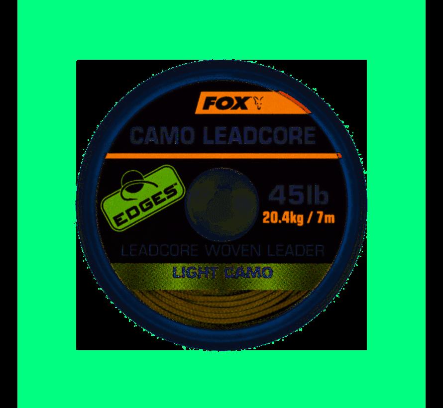Fox Camo Leadcore Leadcore Woven Leader Light Camo - Leaders