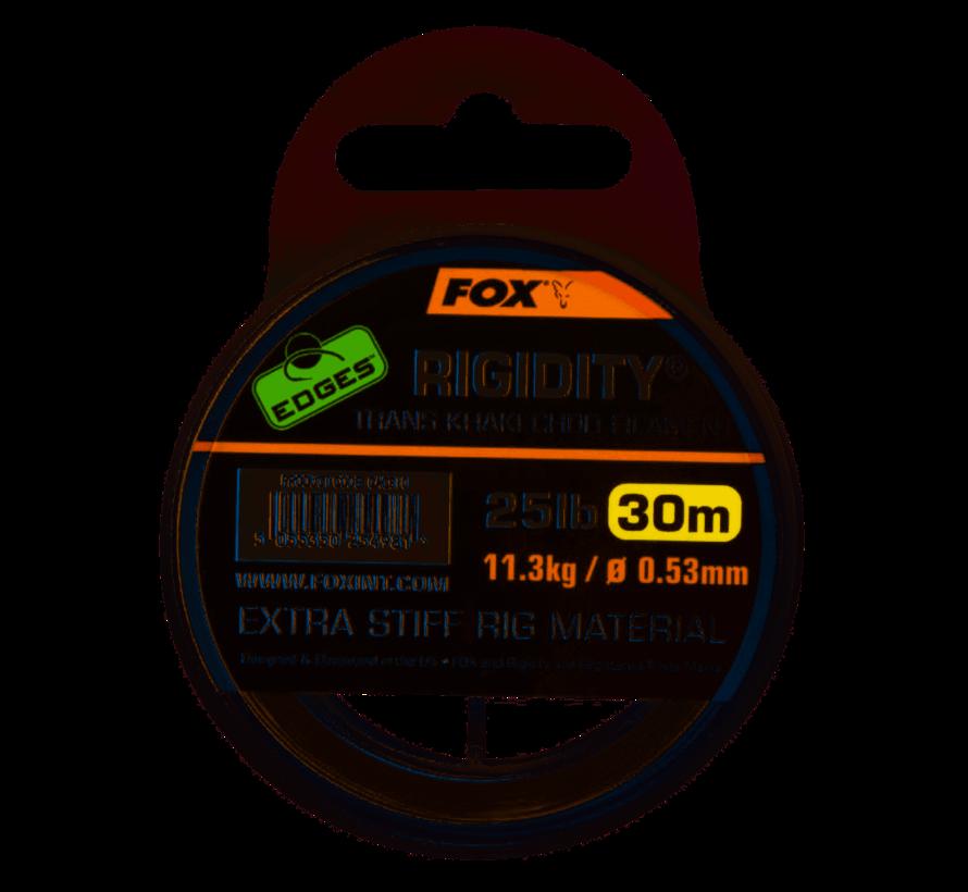 Fox Rigidity Trans Khaki Chod Filament - Onderlijnmateriaal