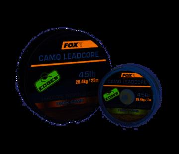 Fox Fox Camo Leadcore Woven Leader Dark Camo 7m