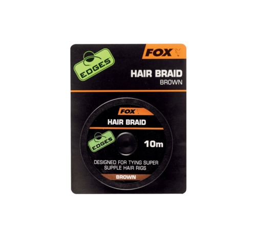 Fox Fox Hair Braid Brown 10m