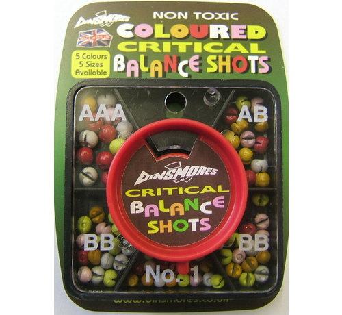 Dinsmores Critical Balance Shots Coloured assorti - Loodhagels