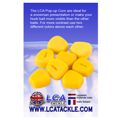 LCA Tackle LCA Tackle Pop-Up Corn