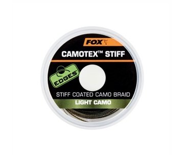 Fox Fox Camotex Stiff Coated Camo Braid - Light Camo